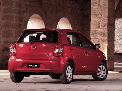 2012 Toyota Etios hatchback - Brazil version 3