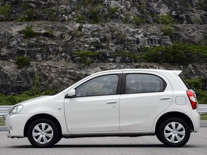 2012 Toyota Etios hatchback - Brazil version 4