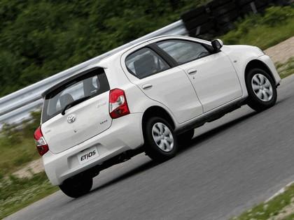 2012 Toyota Etios hatchback - Brazil version 6