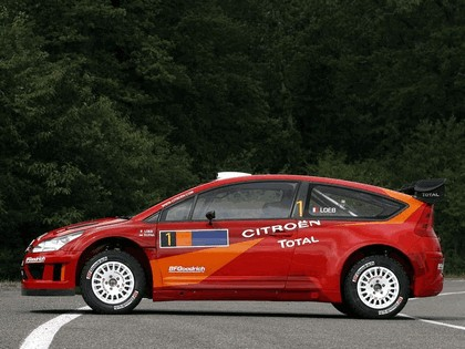 2007 Citroën C4 WRC 7
