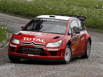 2007 Citroën C4 WRC 14