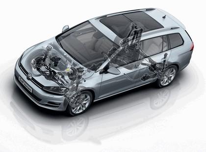 2013 Volkswagen Golf ( VII ) Variant 16