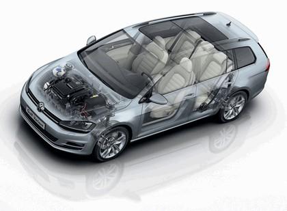 2013 Volkswagen Golf ( VII ) Variant 17