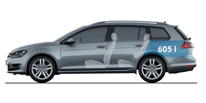 2013 Volkswagen Golf ( VII ) Variant 27