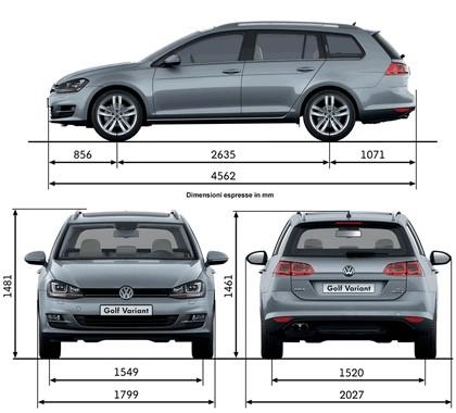 2013 Volkswagen Golf ( VII ) Variant 28