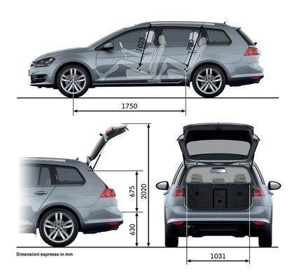 2013 Volkswagen Golf ( VII ) Variant 29
