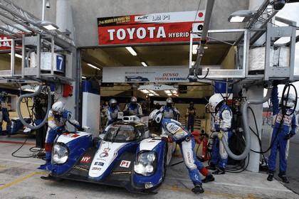 2013 Toyota TS030 Hybrid - Le Mans 24 Hours qualifying 9
