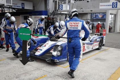 2013 Toyota TS030 Hybrid - Le Mans 24 Hours race 3
