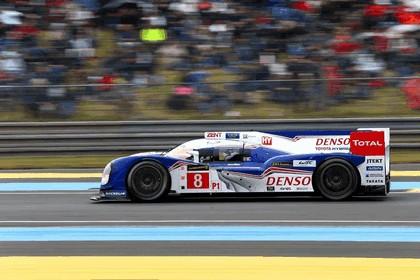 2013 Toyota TS030 Hybrid - Le Mans 24 Hours race 12