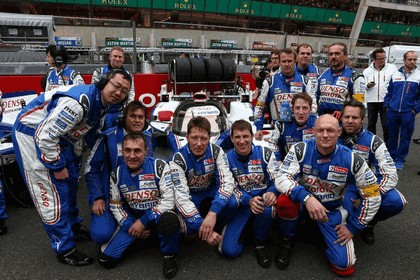 2013 Toyota TS030 Hybrid - Le Mans 24 Hours race 44