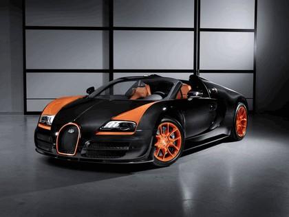 2013 Bugatti Veyron 16.4 Grand Sport Vitesse - World Speed Record 1