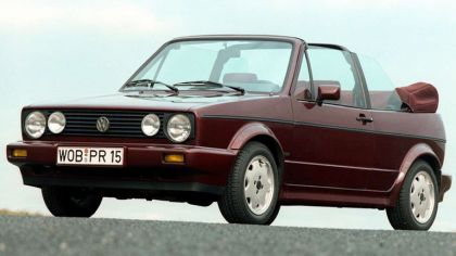 1990 Volkswagen Golf ( I ) cabriolet Etienne Aigner 9