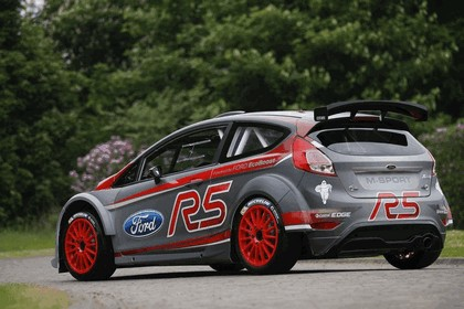 2013 Ford Fiesta R5 - European Rally Championship 2