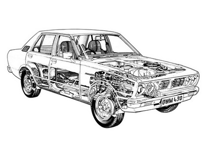 1970 Datsun Violet ( 160J A10 ) 2