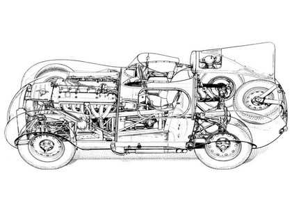 1955 Jaguar D-Type 22