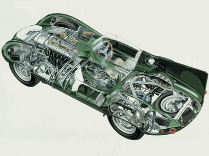 1955 Jaguar D-Type 23