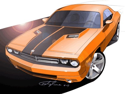 2007 Dodge Challenger RT concept 15