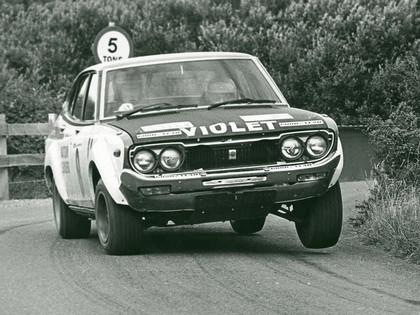 1979 Datsun Violet ( 160J ) rally car 1