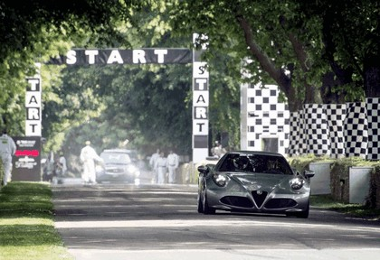 2013 Alfa Romeo 4C - Goodwood Festival of Speed 5