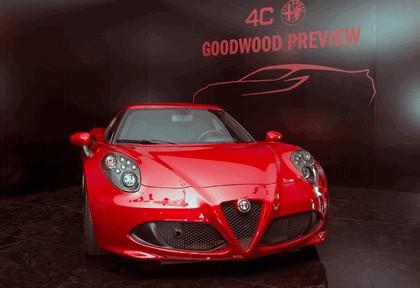2013 Alfa Romeo 4C - Goodwood Festival of Speed 6