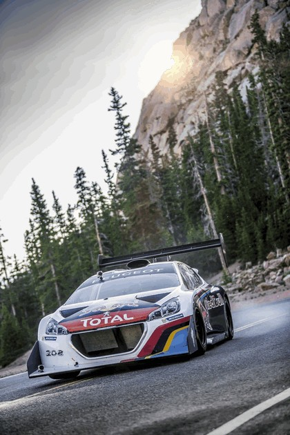 2013 Peugeot 208 T16 Pikes Peak - practice and race 1
