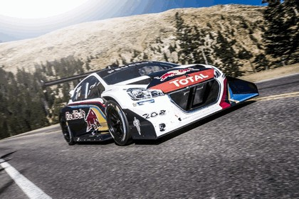 2013 Peugeot 208 T16 Pikes Peak - practice and race 2