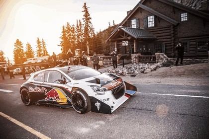 2013 Peugeot 208 T16 Pikes Peak - practice and race 3