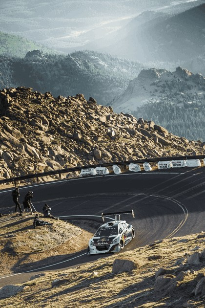 2013 Peugeot 208 T16 Pikes Peak - practice and race 7