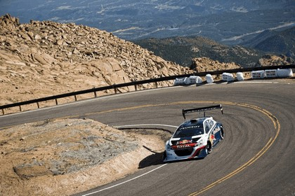 2013 Peugeot 208 T16 Pikes Peak - practice and race 8