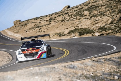 2013 Peugeot 208 T16 Pikes Peak - practice and race 9