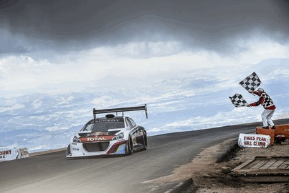2013 Peugeot 208 T16 Pikes Peak - practice and race 19