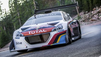 2013 Peugeot 208 T16 Pikes Peak - practice and race 4
