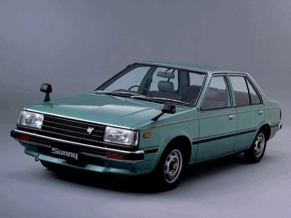 1981 Nissan Sunny ( B11 ) sedan 1.7 GLD 1