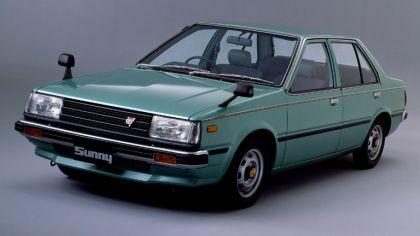 1981 Nissan Sunny ( B11 ) sedan 1.7 GLD 5