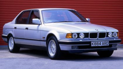1987 BMW 750iL ( E32 ) - UK version 2