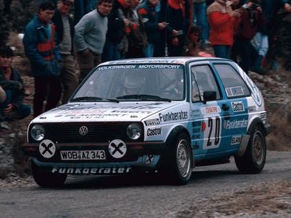 1984 Volkswagen Golf ( II ) GTI rally car 1