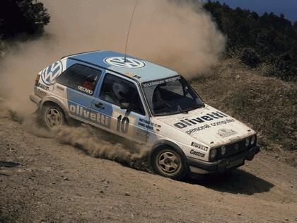 1984 Volkswagen Golf ( II ) GTI rally car 3