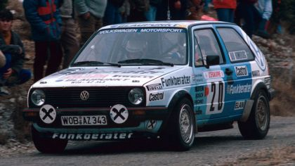 1984 Volkswagen Golf ( II ) GTI rally car 1