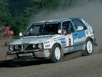 1987 Volkswagen Golf ( II ) GTI 16v rally car 1