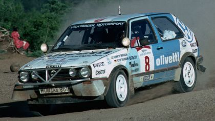 1987 Volkswagen Golf ( II ) GTI 16v rally car 9