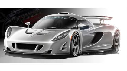 2007 Hennessey Venom GT sketches 1