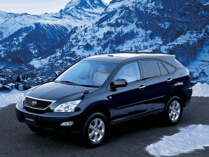 2003 Toyota Harrier 10