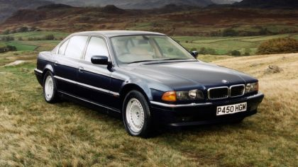 1994 BMW 750il ( E38 ) - UK version 2