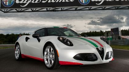 2013 Alfa Romeo 4C - Official Safety Car for FIM World SBK Championship 1