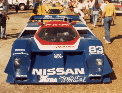1985 Nissan GTP ZX-Turbo 8