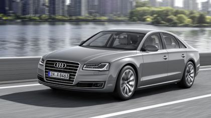 2013 Audi A8 ( D4 ) hybrid - USA version 3
