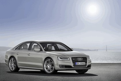 2013 Audi A8 ( D4 ) TDi quattro - USA version 2