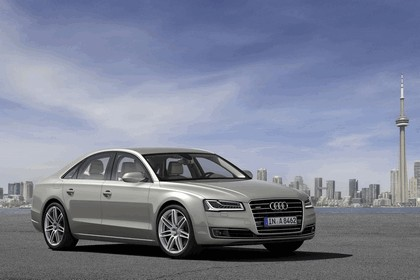 2013 Audi A8 ( D4 ) TDi quattro - USA version 4