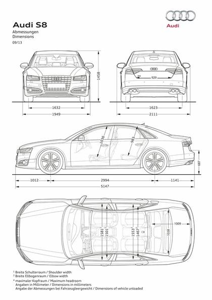 2013 Audi S8 ( D4 ) - USA version 24