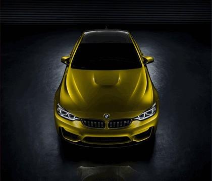 2013 BMW M4 ( F32 ) coupé concept 4